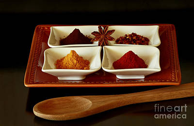 International Flair  Spice It Up Art Print by Inspired Nature Photography Fine Art Photography