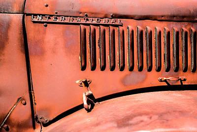 Photograph - International Rust by  Onyonet  Photo Studios