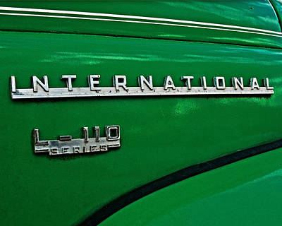 Photograph - International Truck by Andy Crawford