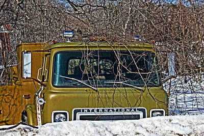 Photograph - International Truck by Ms Judi