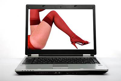 Internet Pornography Art Print