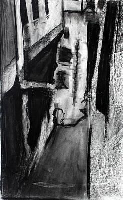 Chalk Drawing - Interpretation by Billy Granneman