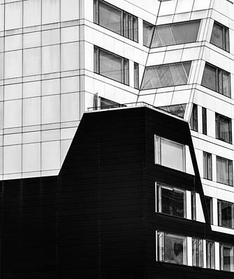 Photograph - Intersecting Angles Of Architecture by Gary Slawsky