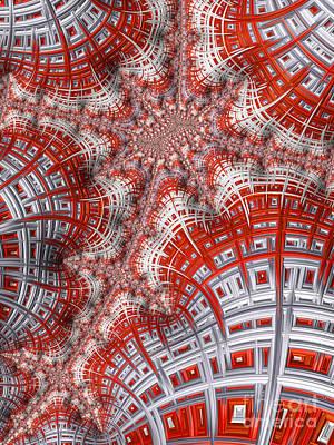 Digital Art - Intersecting by Heidi Smith