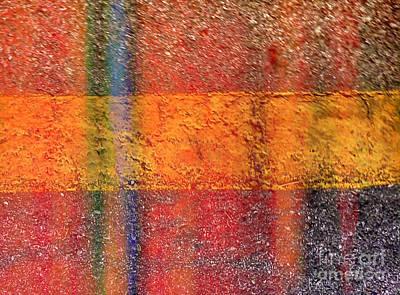Avant Garde Mixed Media - Intersection by J Burns