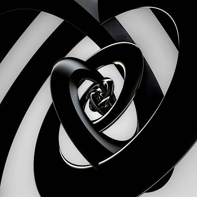 Mandelbulb Digital Art - Intersection by Lyle Hatch