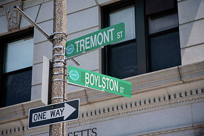 Tremont Photograph - Intersection Of Tremont Street by Panoramic Images