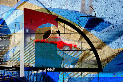 Sculptural Collage Photograph - Interstate 10- Exit 257- Speedway Blvd Underpass- Rectangle Remix by Arthur BRADford Klemmer