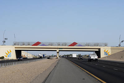 Photograph - Interstate 10 Project Outtake_0050020 by Arthur BRADford Klemmer