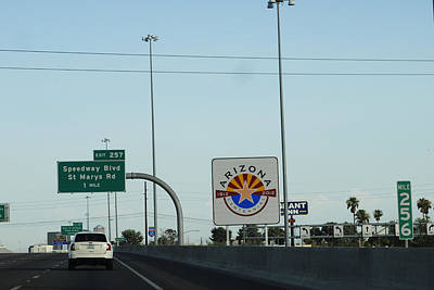 Photograph - Interstate 10 Project Outtake_0050042 by Arthur BRADford Klemmer
