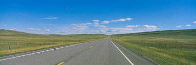 89 Photograph - Interstate Highway Passing Through A by Panoramic Images