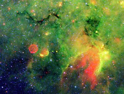 Interstellar Clouds Art Print