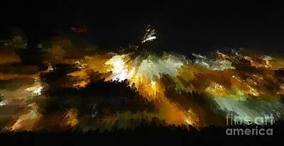 Photograph - Interstellar Metamorphosis by Barbie Corbett-Newmin
