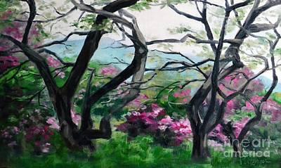 Intertwining Painting - Intertwined 2 by Lori Pittenger