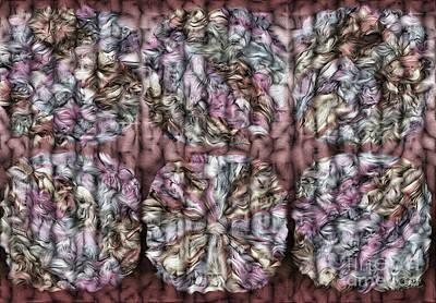 Interwine Art Print by Mo T