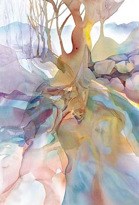 Painting - Interwined by Elena Balekha