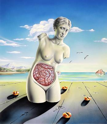 Venus De Milo Photograph - Intestinal Disorders by John Bavosi