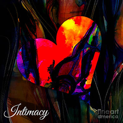 Mixed Media - Intimacy by Marvin Blaine