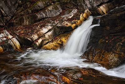 Photograph - Intimate Cascade by Mike Farslow