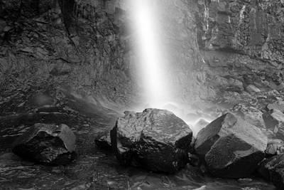 Oh Lovely Ocean Rock Waterfall Art Print