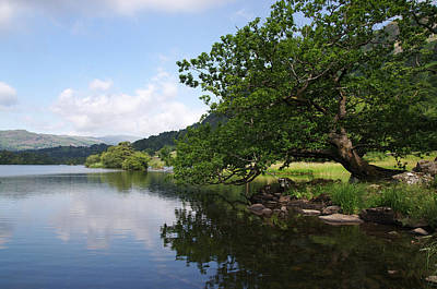 Photograph - Intimate Stroll Around Rydal by Graham Hawcroft pixsellpix