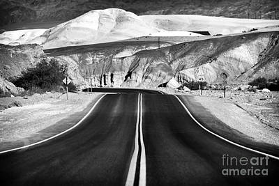 Photograph - Into Death Valley by John Rizzuto