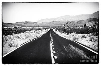 Photograph - Into Mojave by John Rizzuto