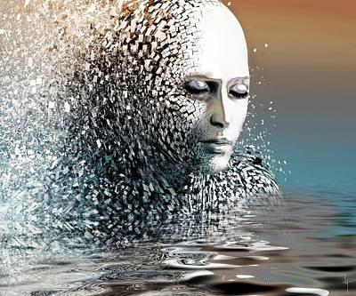 Fantasy Digital Art - Into Oblivion by Jacky Gerritsen