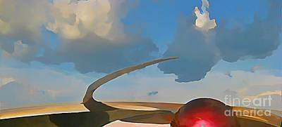 Disney Artist Painting - Into The Blue Yonder by John Malone