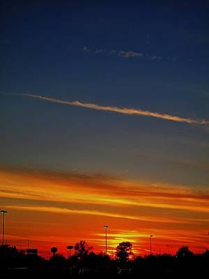 Into The Bluest Sky Art Print