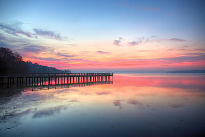 Photograph - Into The Chesapeake  by JC Findley