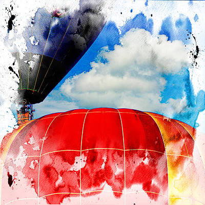 Into The Clouds Art Print by Ken Evans