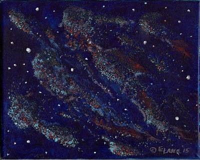 Painting - Into The Cosmos by Elizabeth Lane