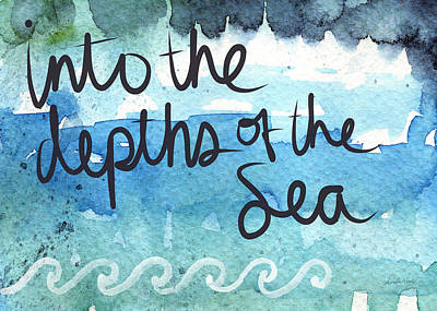 Royalty-Free and Rights-Managed Images - Into The Depths Of The Sea by Linda Woods
