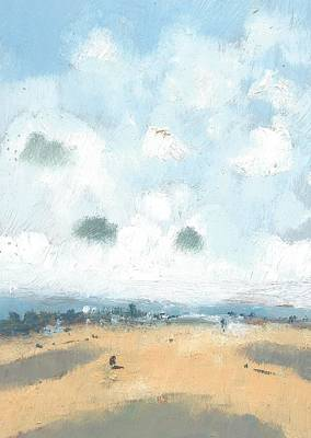 Oil Landscape Painting - Into The Distance Part Four by Alan Daysh