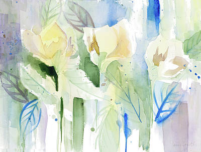 Foothills Painting - Into The Floral Foothills by Lanie Loreth