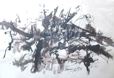 Painting - Into The Fray by Esther Newman-Cohen