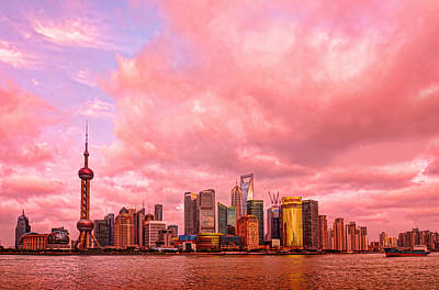 Shanghai Photograph - Into The Future by Midori Chan