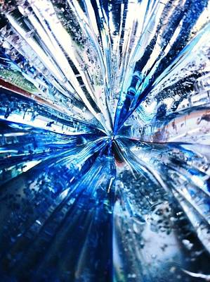 Digital Art - Into The Icy Blue by Natalya Karavay