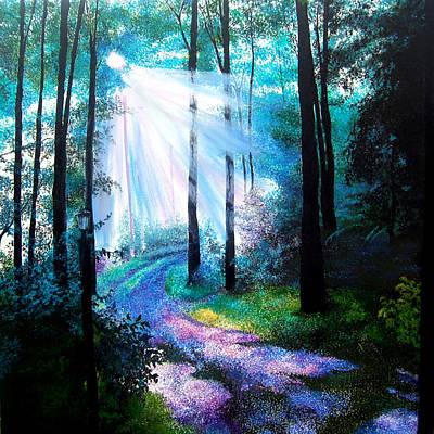 Into The Light. Art Print by Jennifer  Blenkinsopp