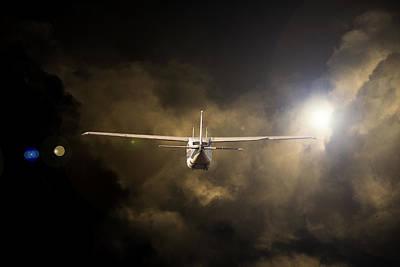 Cessna Photograph - Into The Light by Paul Job