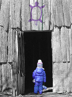 Photograph - Into The Longhouse by Nina Silver
