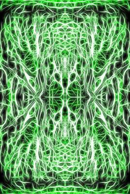 Matrix Code Digital Art - Into The Matrix by Dan Sproul