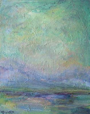 Painting - Into The Morning by Mary Wolf