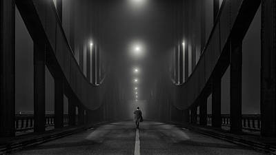Perspective Photograph - Into The Night by Alexander Sch?nberg
