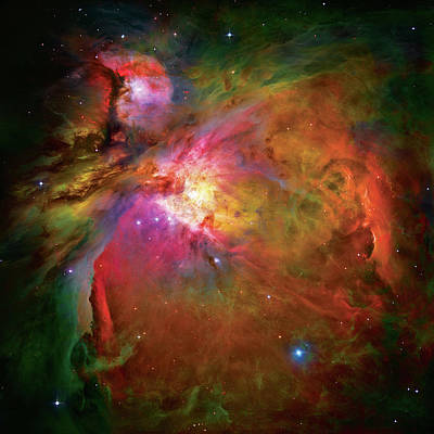 Hubble Space Telescope Photograph - Into The Orion Nebula by Jennifer Rondinelli Reilly - Fine Art Photography