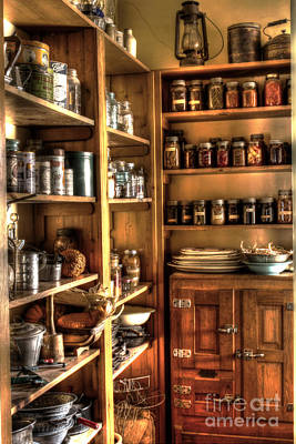 Into The Pantry Art Print