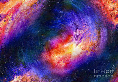 Painting - Into The Sun Abstract by Lee Farley