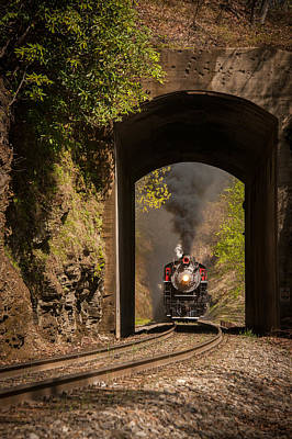 Photograph - Into The Tunnel by Joye Ardyn Durham