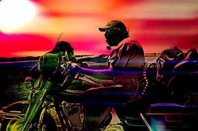 Scoot Digital Art - Into The Unknown  by Off The Beaten Path Photography - Andrew Alexander